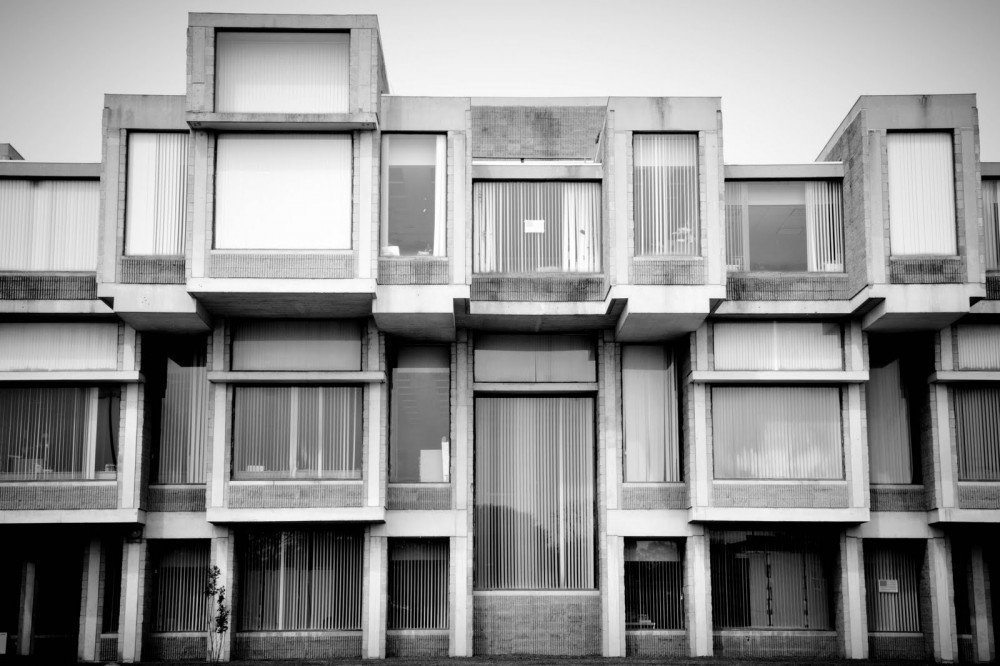 Government building, Goshen, New York-architect Paul Rudolph  Brutes