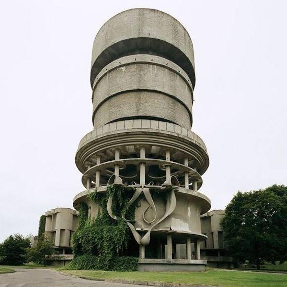 Balneological Hospital, Druskinninkai, Lithuania (demolished)   Brutes