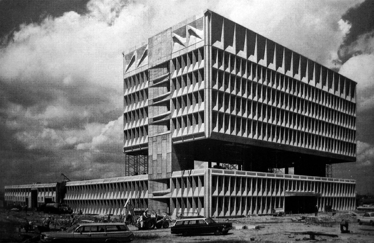 New Haven in 1969, designed by Marcel Breuer  Brutes