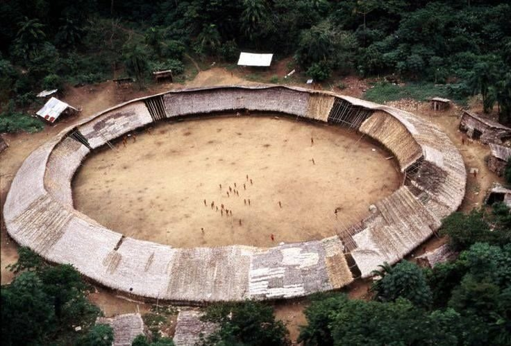 yanomami tribe  Architecture without Architects