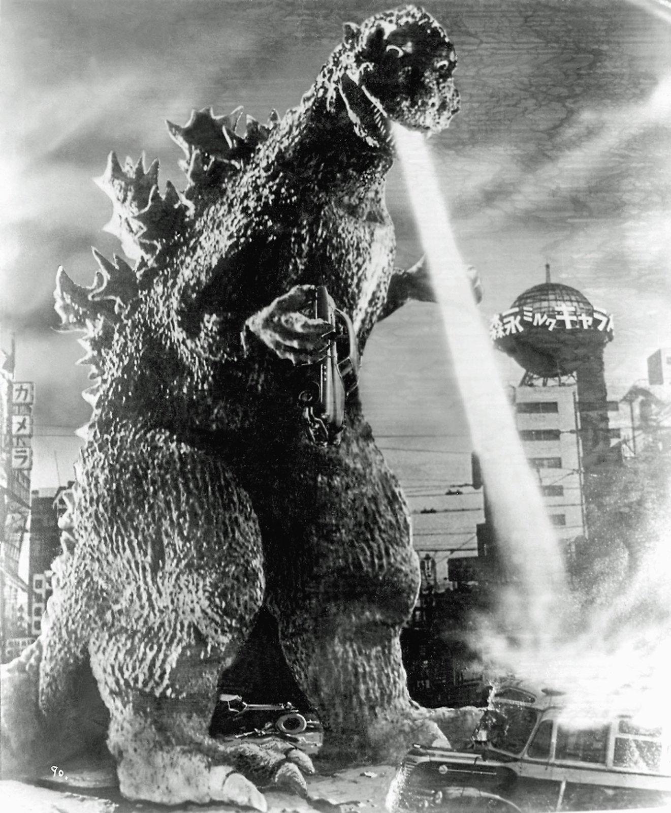 Godzilla hates architecture!  Metabolist Architure