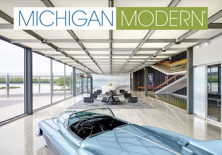 Michigan Modern  Design Award of Excellence, Advocacy  The Michigan Modern project raised awareness of the state's modern resources and design heritage. The photograph of the lobby of the Design Building at General Motors Technical Center by Eero Saarinen serves as the cover for the book Michigan Modern.     Greatness Restored: The 2016 Modernism in America Awards