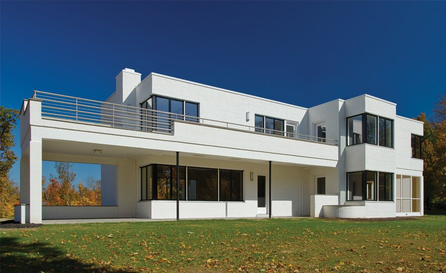 Frederick and Harriet Rauh Residence  Design Award of Excellence, Residential  The Frederick and Harriet Rauh Residence underwent a full restoration and is now used for lectures to spread awareness to preserve modern architecture.   Greatness Restored: The 2016 Modernism in America Awards