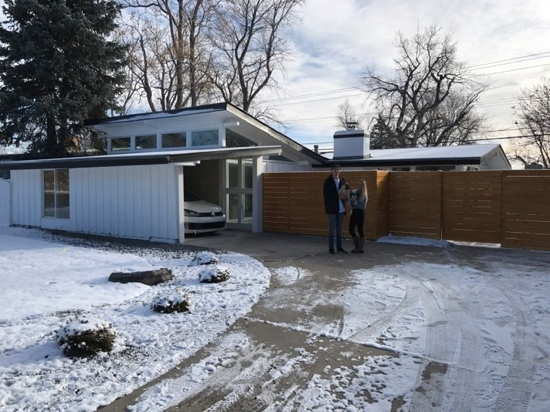 """D and L  These clients reached out to me after watching my social media. They knew they wanted a Mid Century Modern Home, and after looking around, knew I was the only agent to help them find it! We met for coffee a few weeks later, and had a wonderful conversation! I prepped them on what this crazy market in Denver looks like, and in the Price range they were buying. About how the process works for buying a home, and connected them up with some lenders to get the ball rolling! Later that evening I also set them up on an REColorado Search. I set in the geographical parameters of where they were looking, and the price range. Then curated the listings that came up to see if they were MCM homes or not. And if they were- I got them to D and L right away! These clients-like many that I have worked with-were on the fence between a """"finished"""" and a """"project"""" house. Always a tough decision, I know!!   After sending them a few listings, one came across they had been eyeing for a while. It had gone Under Contract right when they started looking, and were bummed that they had missed it. One of the big draws to MCM were the Cliff May Homes. And this listing was a Cliff May. I got a text they needed to see it ASAP- which the next text was, we also need to put an offer in- it was perfect. We saw it, and just as they predicted, it was their EXACT style and the perfect house! Luckily I know the owner/investor that had done work on the home so it helped in making sure we got it before the next person walked in to do the same!  The process went super smooth through all the potentially contentions issues and we sailed right to closing after 30 days!  D and L spent the first night on an air mattress, on the floor, just as they had done in their first rental. To which I told them that my partner and I had that same ritual in any home we purchased to live in!  Enjoy your home C and L! It is a truly great one and even better community you are now part of!  My Past Sales"""