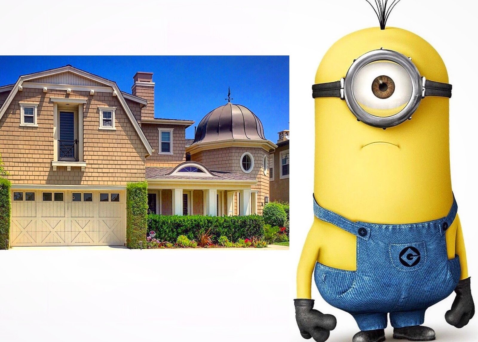 This Dutch colonial comes with its own Minion.   There is no 'I' in Archetect