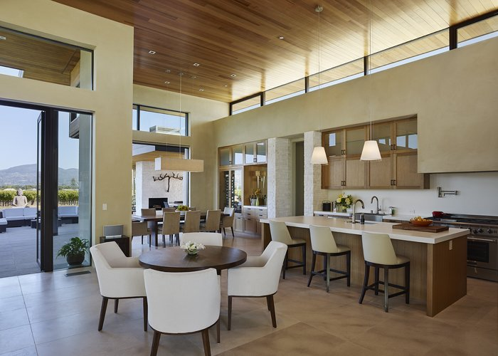 Modern Residence Kitchen  Modern Tranquility by Taylor Lombardo Architects