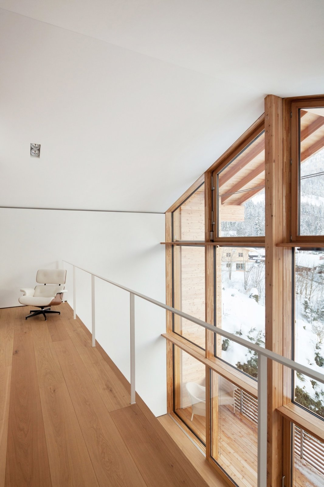 German architecture firm Beer Bembé Dellinger designed this vacation getaway in Bayrischzell, Bavaria, for a couple from Munich.   Photo by Sebastian Schels  Haus Z2 in Bayrischzell