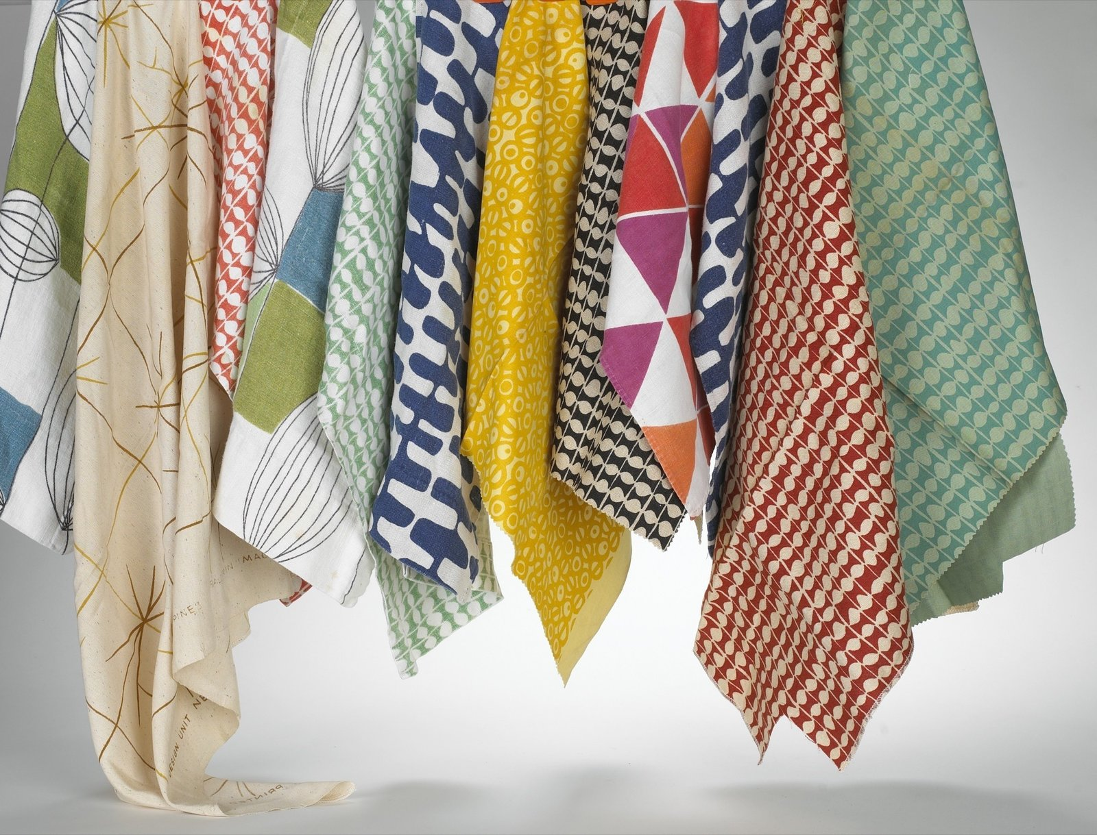 Fabrics designed by Ben Balwin  Photo 13 of 21 in How American Modernism Came to the Mountains
