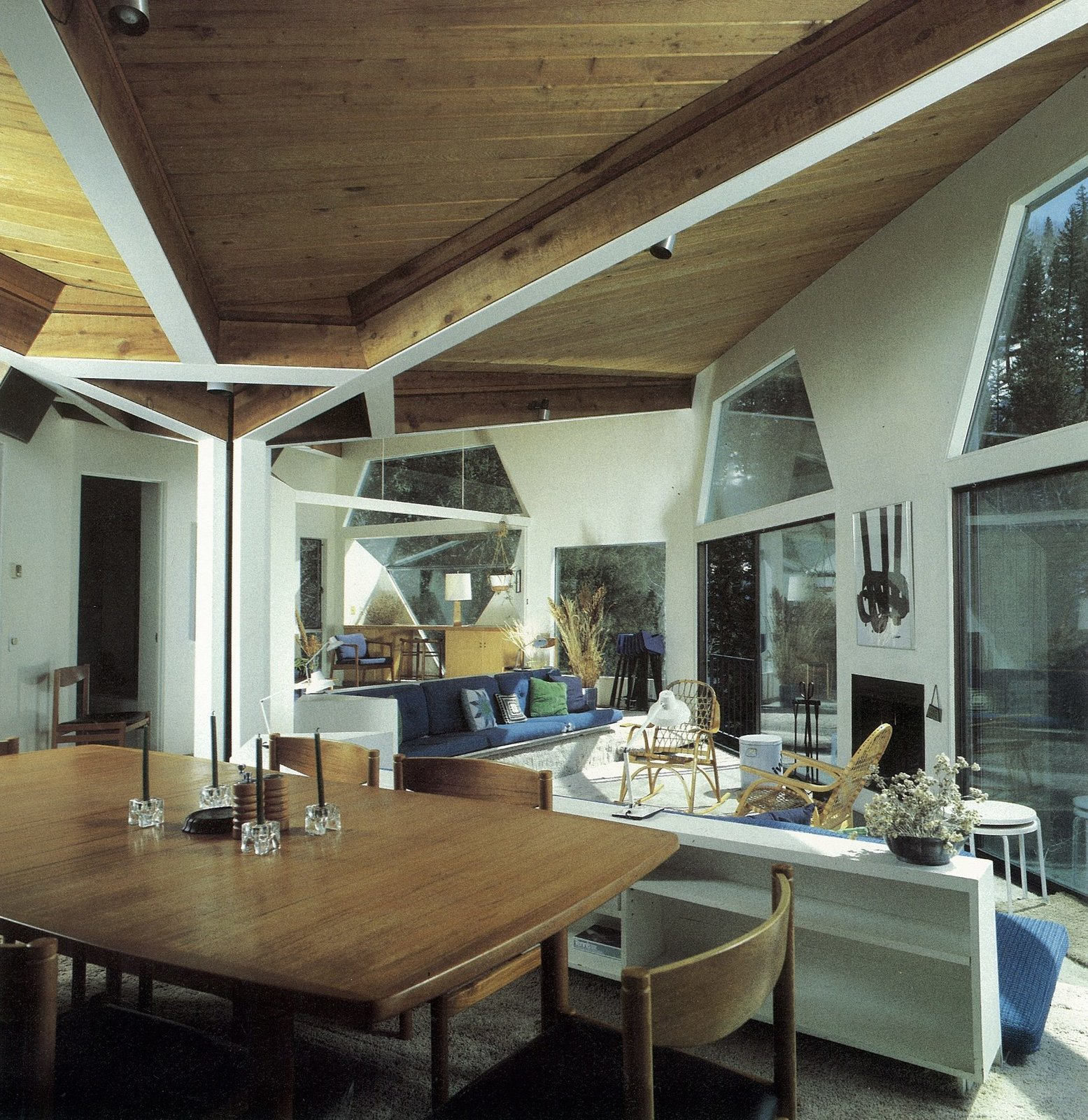 Harry Weese's Baird House, Aspen, Colorado — interior  Photo 21 of 21 in How American Modernism Came to the Mountains