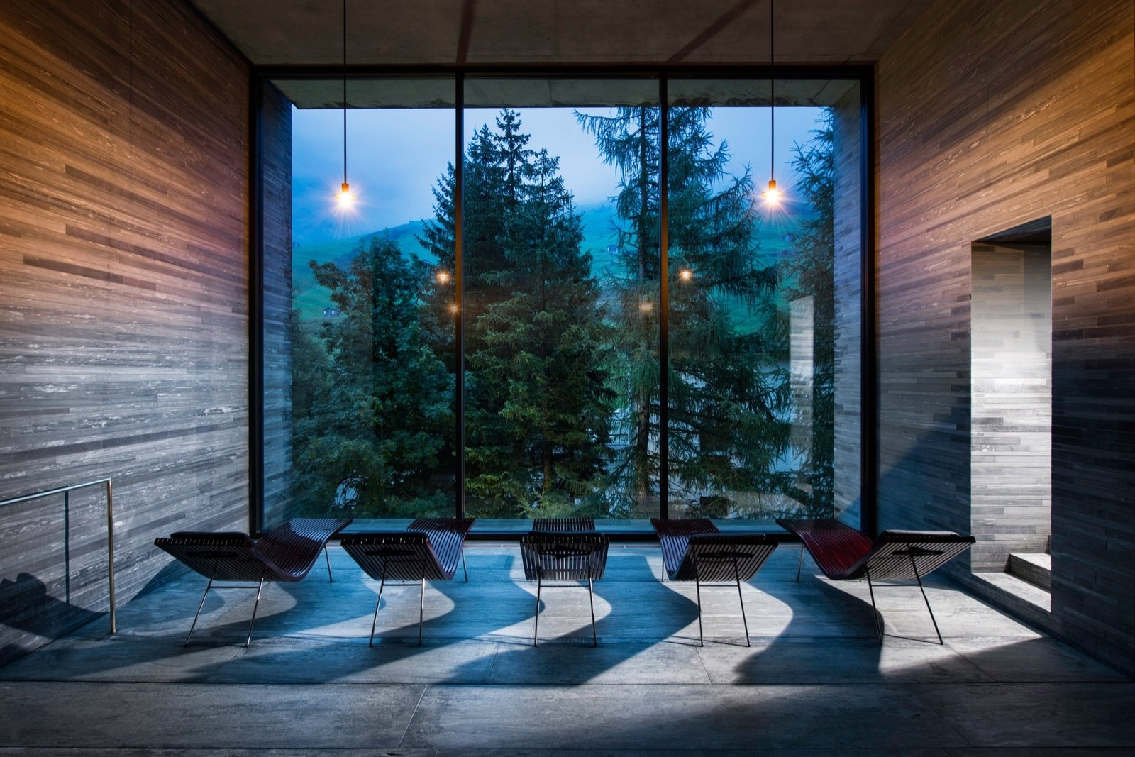 Therme Vals / Designed by architect Peter Zumthor  Photo 6 of 12 in Slow Architecture