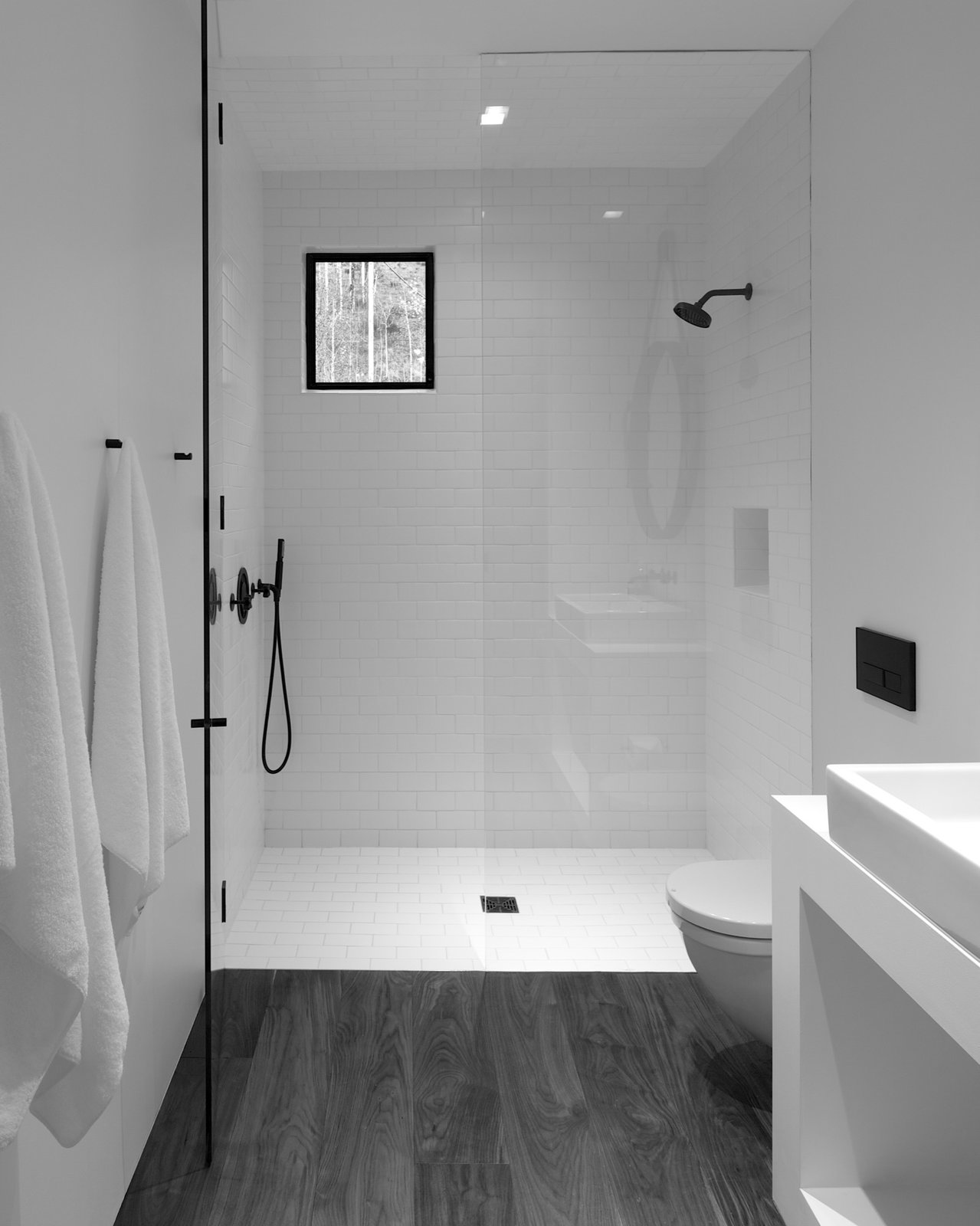 Small Minimalist Bathroom Design