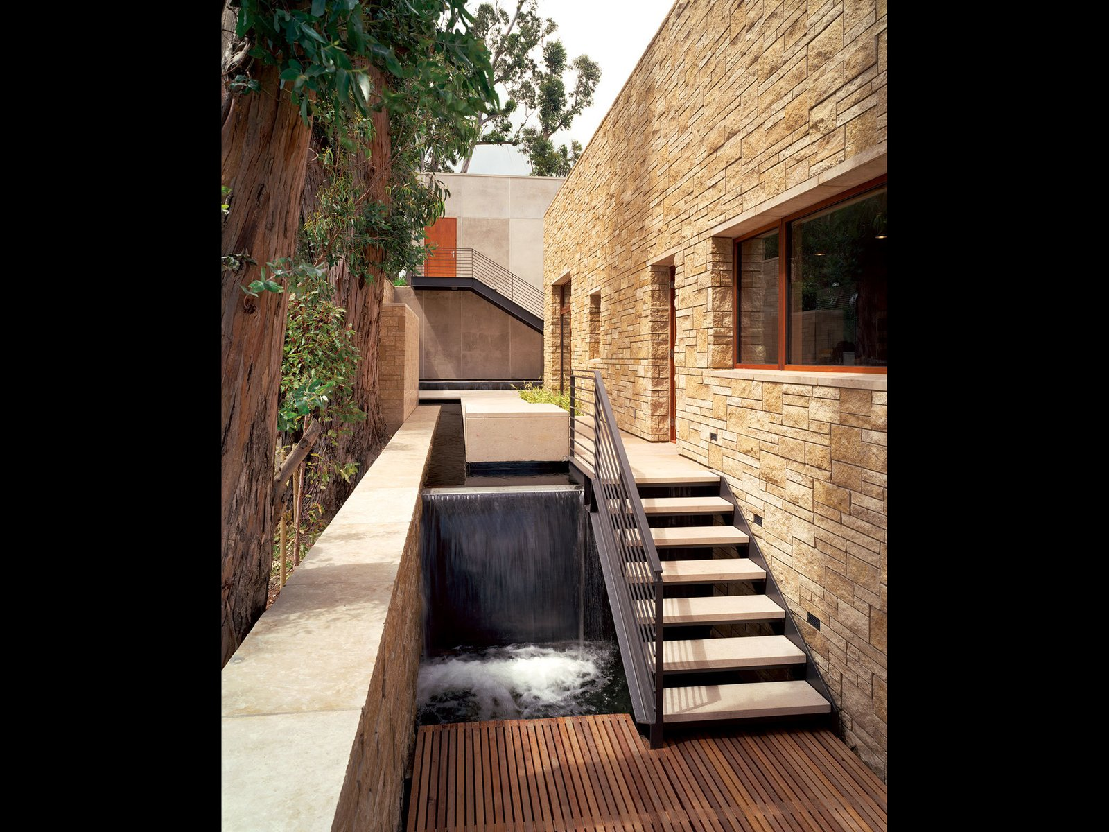 Outdoor, Side Yard, and Small Pools, Tubs, Shower Edgewood House Mill Valley, CA  Best Photos from Edgewood House