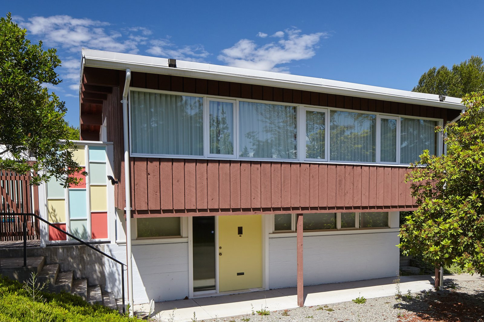 The Friedman House is a charming, mid-century home built for Drs. Sydney and Constance Friedman in the early 50s. It was saved earlier this year from demolition.  Photo 2 of 7 in Styling a Rescued Mid-Century Gem