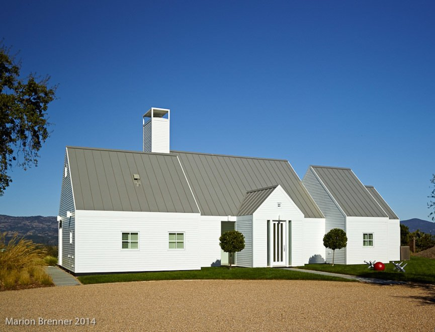The Birdhouse Modern Home In Napa California By Hugh