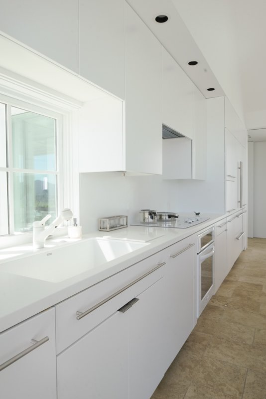 Kitchen and White Cabinet interior, kitchen  The Birdhouse by Centric General Contractors