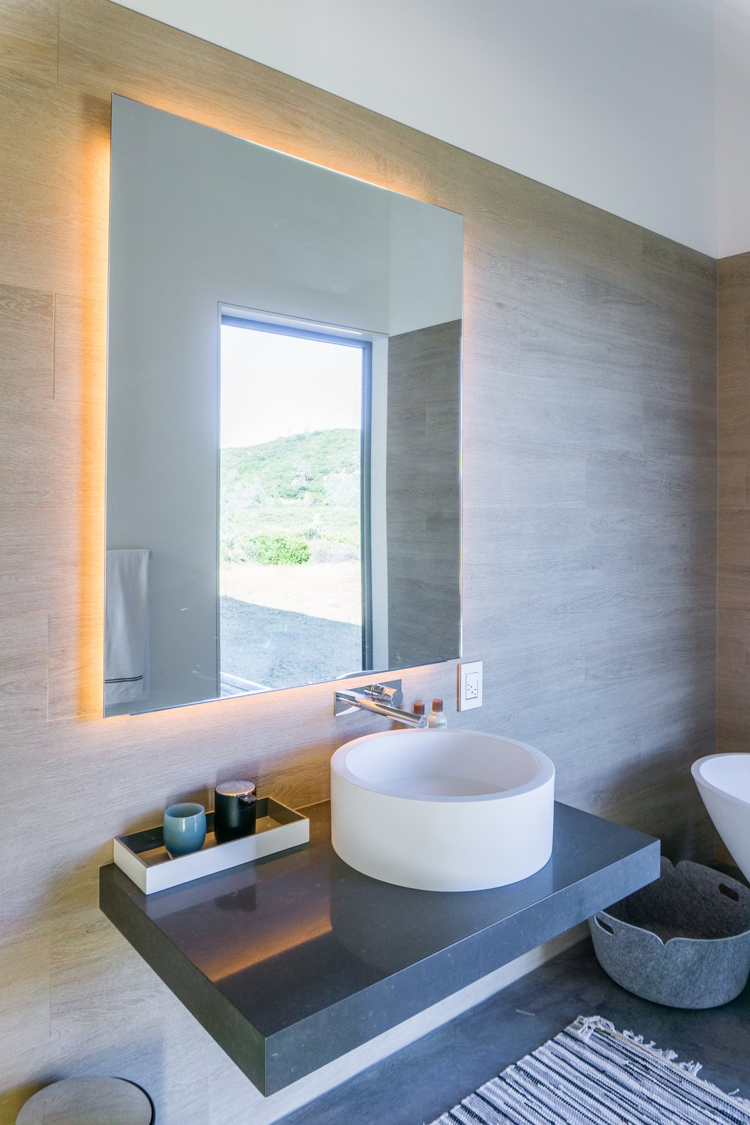 Bath Room interior, bathroom  Lake Berryessa Custom Home by Centric General Contractors