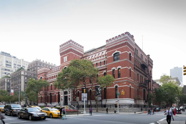 October 8 Building of the Day: Park Avenue Armory  Herzog & DeMeuron and Platt Byard Dovell White Architects   Photo credit: James Ewing   2013 Buildings of the Day