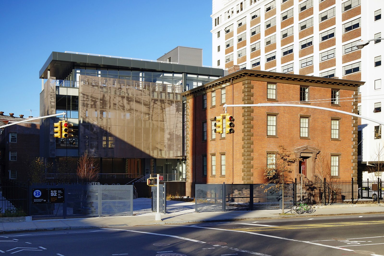 October 25 Building of the Day: The Brooklyn Navy Yard Center at BLDG 92  Beyer Blinder Belle Architects & Planners and Workshop/APD LLC   Photo credit: Copyright Tom Olcott   2013 Buildings of the Day
