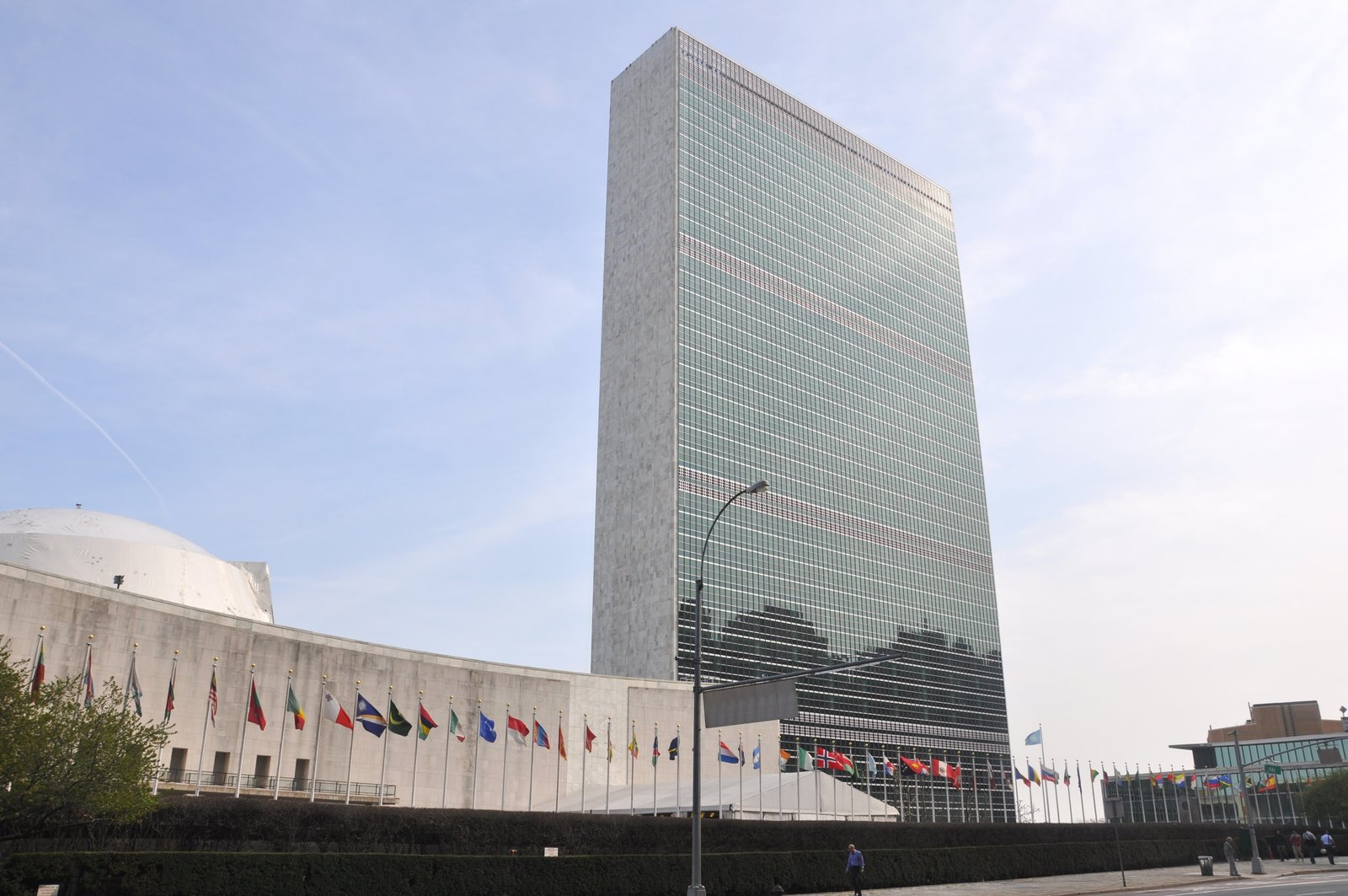October 24 Building of the Day: United Nations Capital Master Plan  HLW International, Einhorn Yaffee Prescott, R.A. Heintges & Associates, Syska Hennessy Group, and Perkins + Will   Photo credit: UN Capital Master Plan   2013 Buildings of the Day