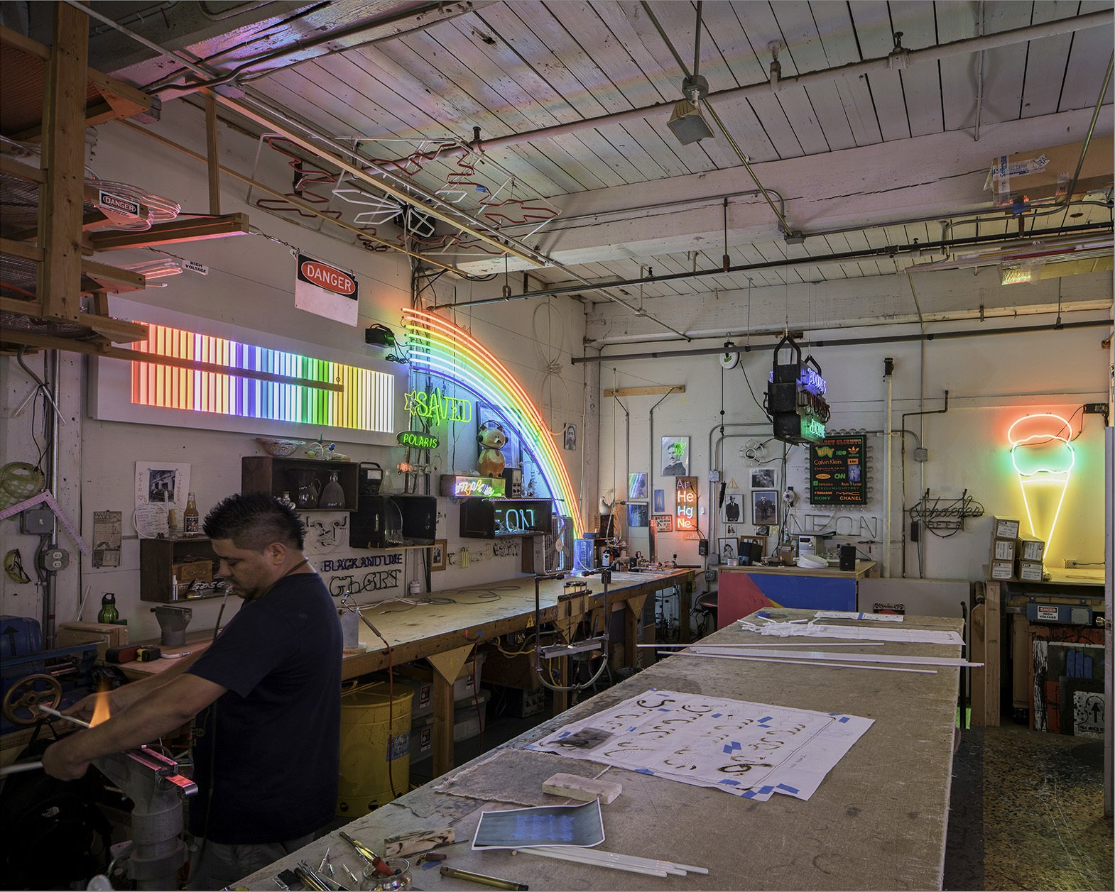 Lite Brite Neon  Photo 2 of 4 in Archtober Itinerary: Benjamin Prosky, Assoc. AIA