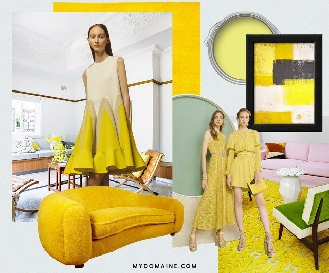 Summer has only just begun, and we've already got a new color crush: chartreuse.  #chartreuse #colorcrush #color #yellow #design #mydomaine  Our Latest Color Crush is Perfect for Summer