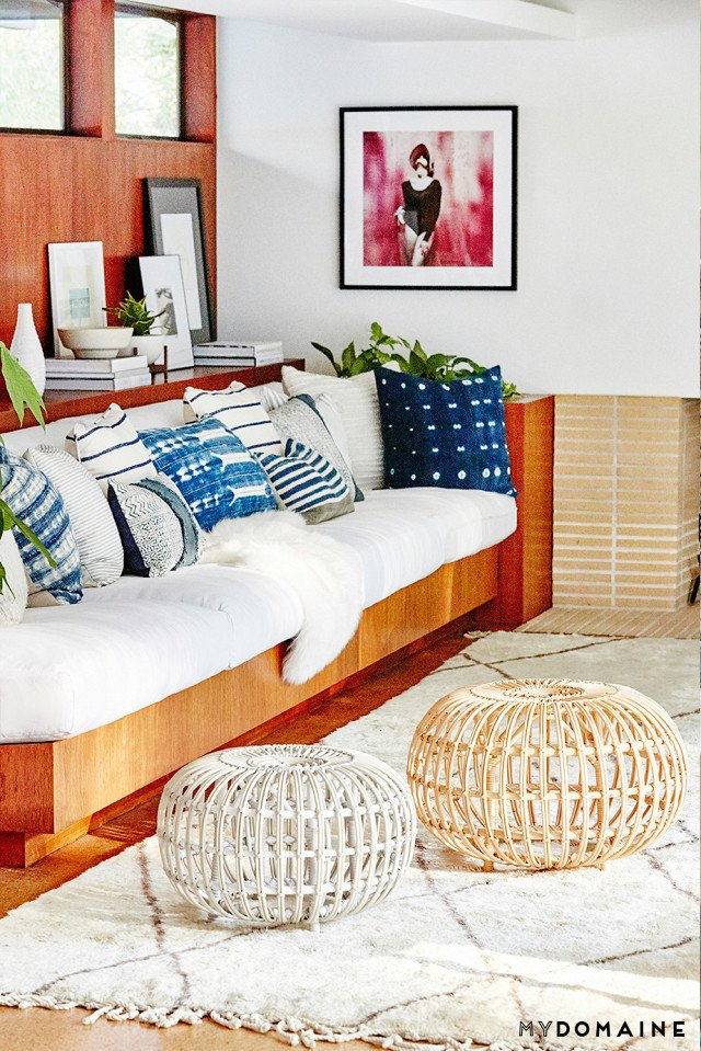 Cover photo by Jenna Peffley for MyDomaine; Styling by Kate Martindale; Design by TwoFold LA  Photo 2 of 30 in Inside Fitness Mogul Lorna Jane's Elegant L.A. Retreat