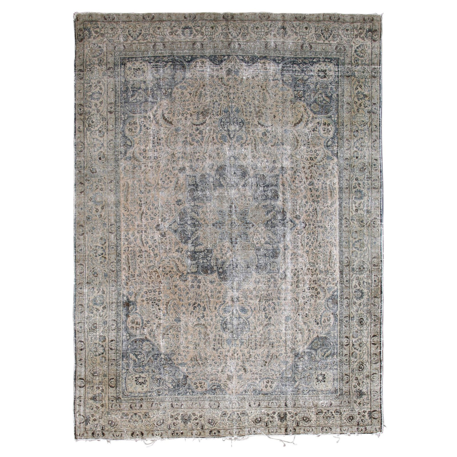 Lawrence of La Brea Antique Tabriz Rug ($8450)  Photo 3 of 26 in Inside Our Striking MyDomaine Office in Los Angeles