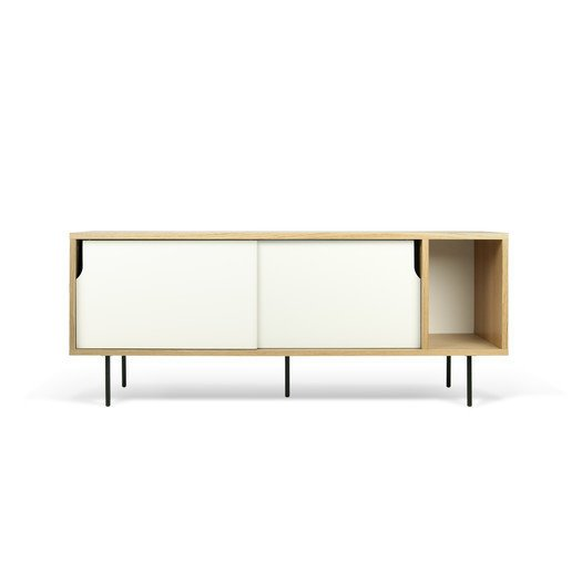 Rodolphe Castellani for Tema Dann TV Stand Sideboard ($632)  Photo 23 of 26 in Inside Our Striking MyDomaine Office in Los Angeles