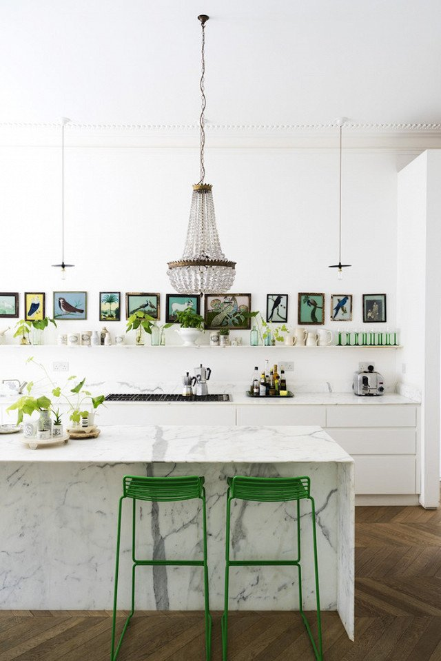 Photo Courtesy of JJ Locations  Photo 15 of 22 in The Chicest Kitchens on the Internet This Year
