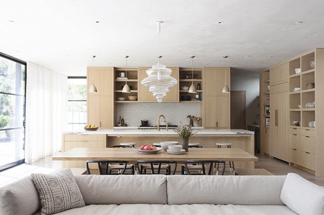 Photo Courtesy of DISC Interiors  Photo 7 of 22 in The Chicest Kitchens on the Internet This Year