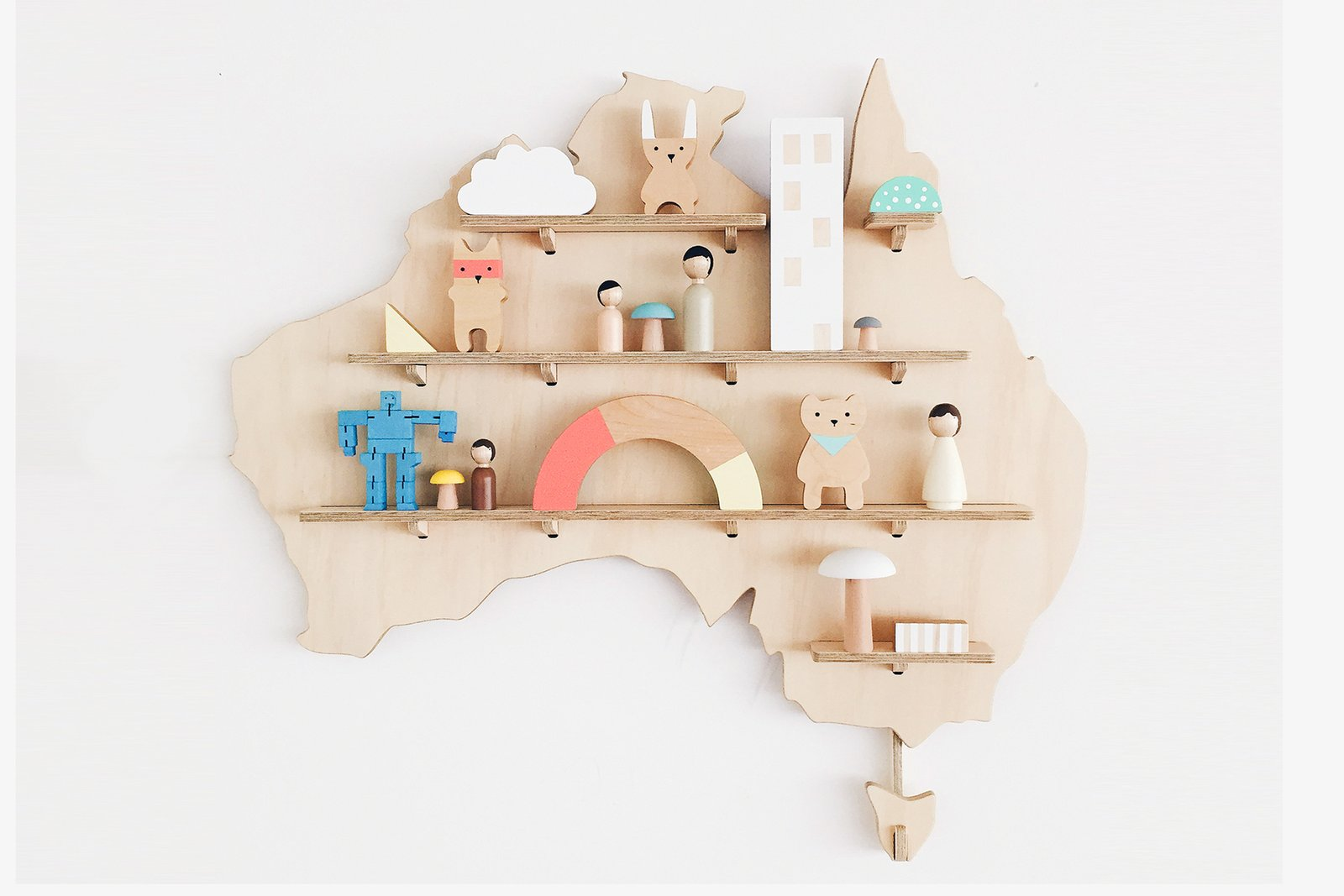 One Two Tree My Treasure Board Australia ($149)  Photo 16 of 19 in This Is How an Aussie Model Decorates a Family Home—and It's So Cool