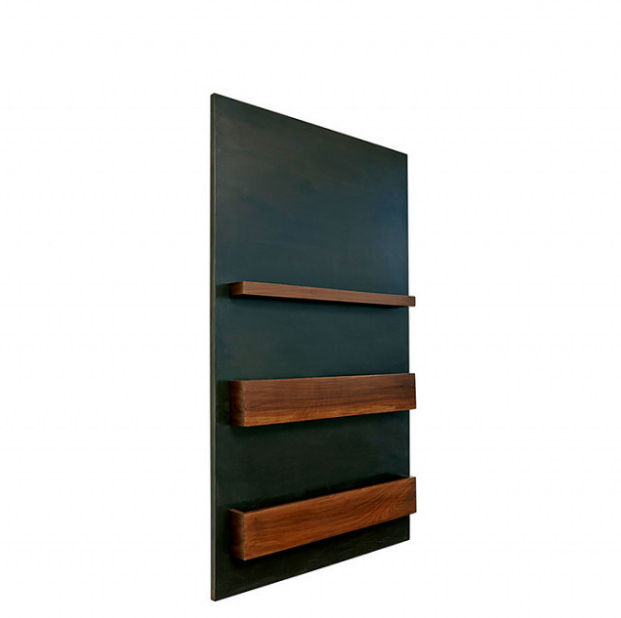 Lawson-Fenning Maker's Book Rack ($1575)  Photo 12 of 18 in 9 Home Libraries We All Want to Curl Up in This Weekend