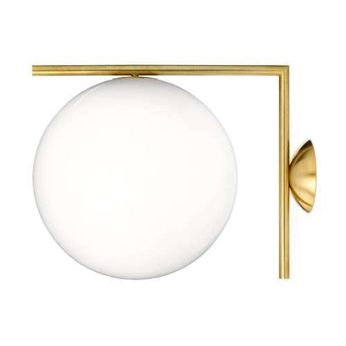 Flos IC C/W Wall Light ($495)  Photo 16 of 19 in Tour an Insanely Stylish NYC Loft With Major Scandinavian Vibes
