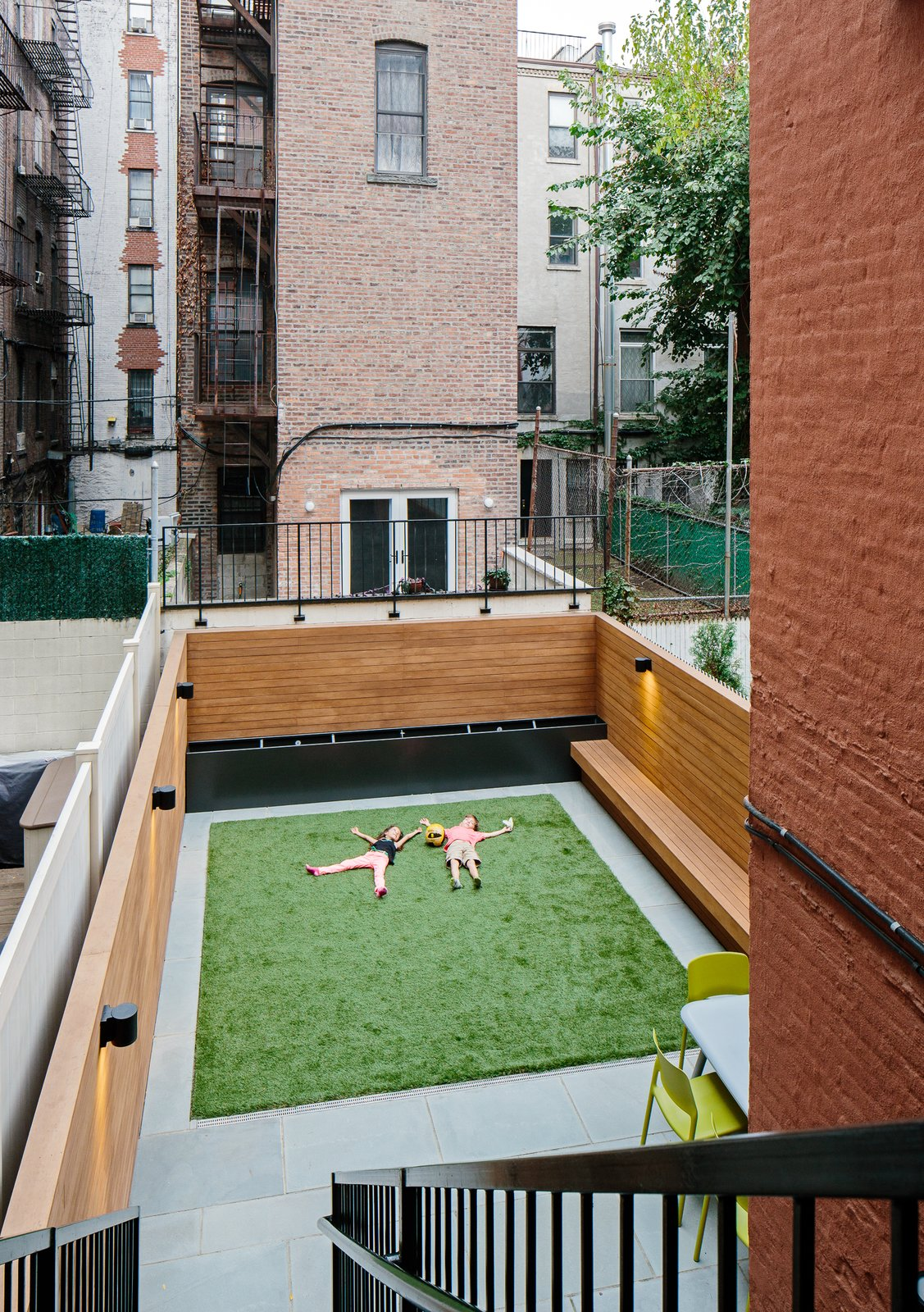 Outdoor, Back Yard, Raised Planters, Planters, Horizontal, Wood, and Post Backyard  Best Outdoor Post Horizontal Photos from Harlem Renaissance