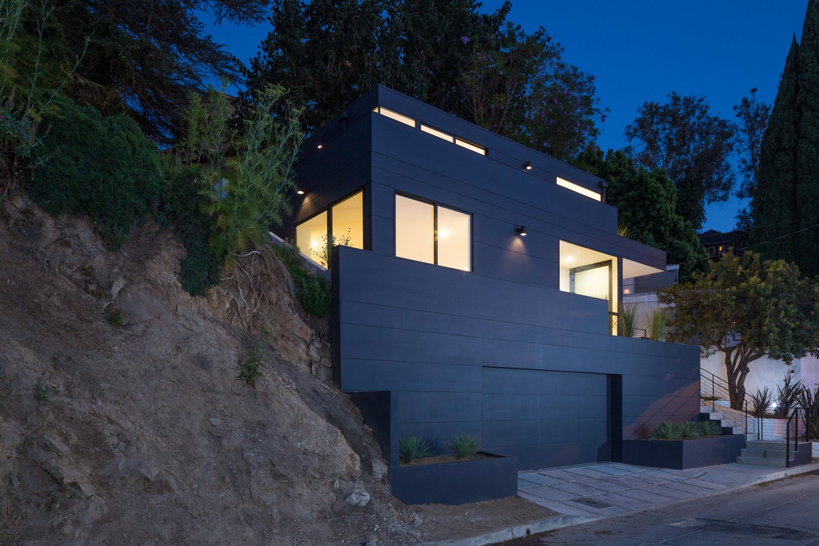 Tilt Shift House Modern Home In Los Angeles California By