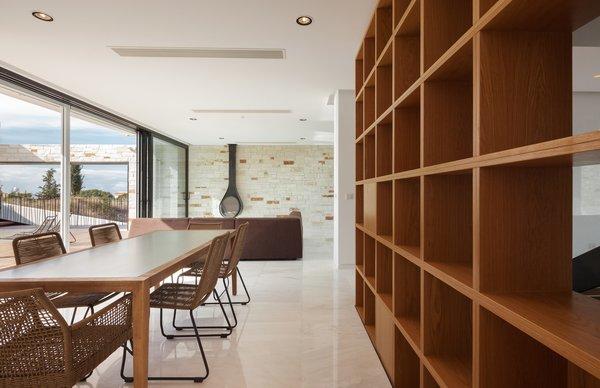 view from kitchen/ indoor outdoor relations.....
