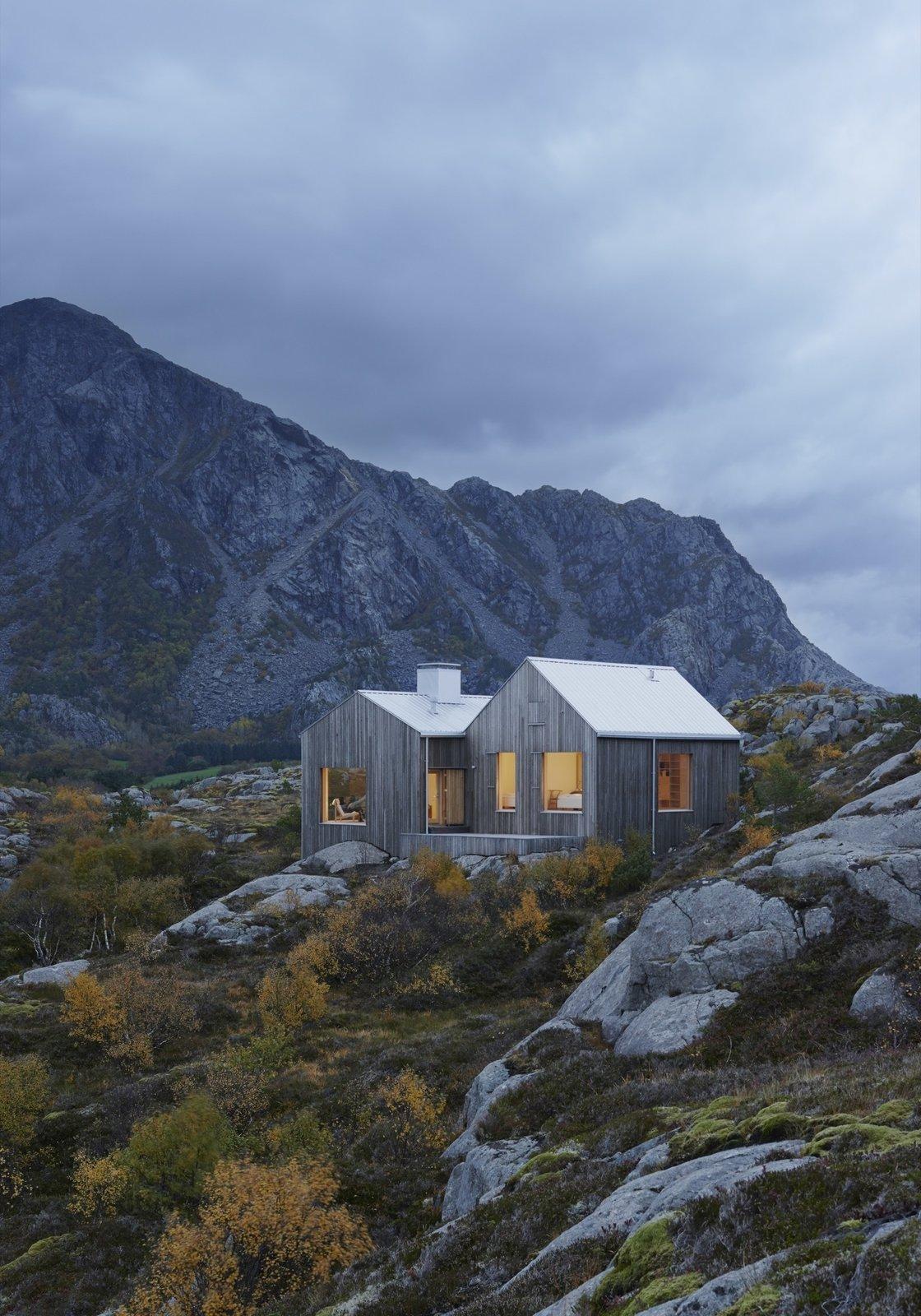 Naked Naust | Vega Island, Norway  A dramatic cabin by Swedish architect Erik Kolman Janouch on Norway's wild Vega Island.  Cabin Love