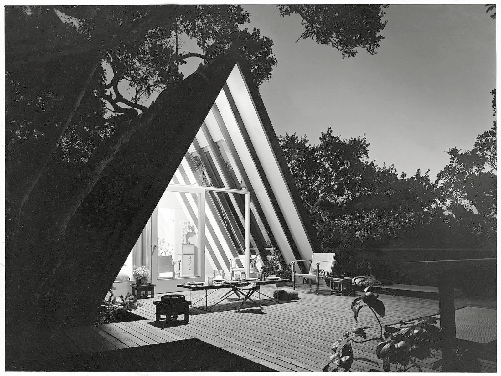 John Campbell's Leisure House, Mill Valley , California, 1953 / Photo Courtesy of Princeton Architectural Press  Spawned by postwar affluence, A-frame cabins became the quintessential American vacation home of the 1950s and 60s. A look at what made these icons of middle-class leisure immensely popular then, and what it is like to remodel and live in one today.  Photos from Cabin Love