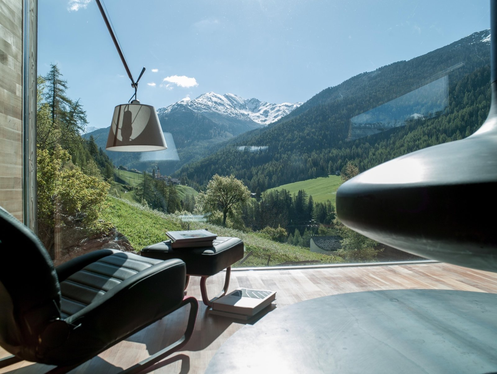 Window to South Tyrol | Italy  Artist and sculptor Othmar Prenner returns home to South Tyrol to converts an old farmhouse into his alpine-modern home and studio.  Cabin Love
