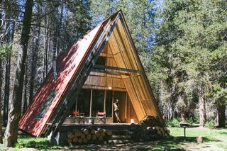 The Red A-Frame