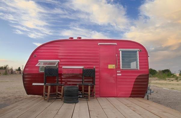 El Cosmico in Marfa, Texas  Getaway Inspiration