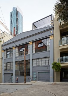 The former knitting mill was built in 1928 and sits in San Francisco's South Beach neighborhood.