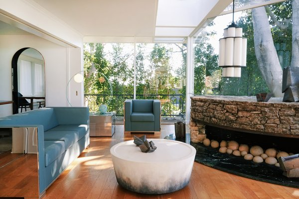 The wooded enclave of Trousdale Estates is an architecturally significant neighborhood above Sunset Boulevard that Dean Martin, Frank Sinatra, Groucho Marx, and Richard Nixon once called home.