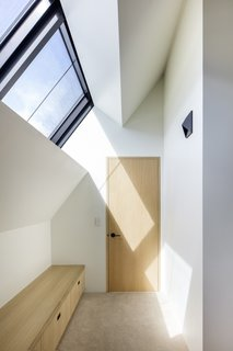 Studio B Architecture+Interiors selected all the finishes and lighting in the home.