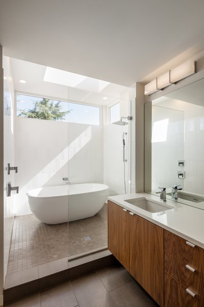 The renovation added just 500 square feet, but the family went from two bedrooms and three bathrooms to five bedrooms and three and a half baths.