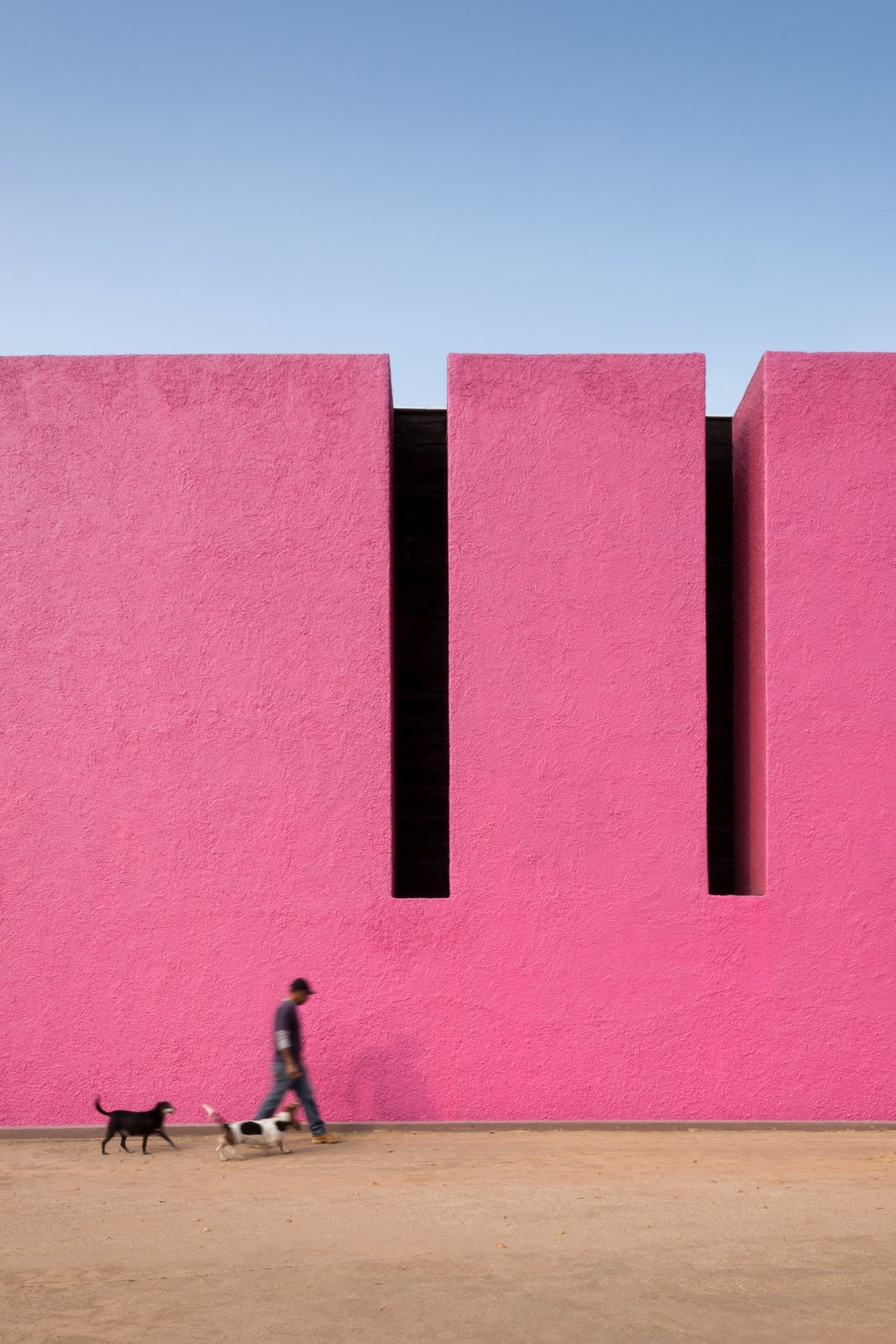 Cuadra San Cristóbal pink wall