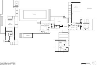 How Neutra's Kaufmann House Got its Groove Back - Dwell on the chadwick floor plans, side breeze floor plans, kaufman house diagrams, palm springs house plans,