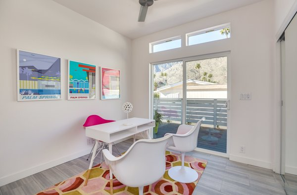 "Many buyers in the Palm Canyon Mobile Club are downsizing from larger properties in the area. ""It's easier living instead of taking care of a big house,"" says realtor Paul Kaplan. ""You can lock, leave, and travel. There's no landscaping maintenance, and you can clean the house in less than 30 minutes."""