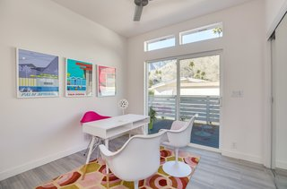 """Many buyers in the Palm Canyon Mobile Club are downsizing from larger properties in the area. """"It's easier living instead of taking care of a big house,"""" says realtor Paul Kaplan. """"You can lock, leave, and travel. There's no landscaping maintenance, and you can clean the house in less than 30 minutes."""""""