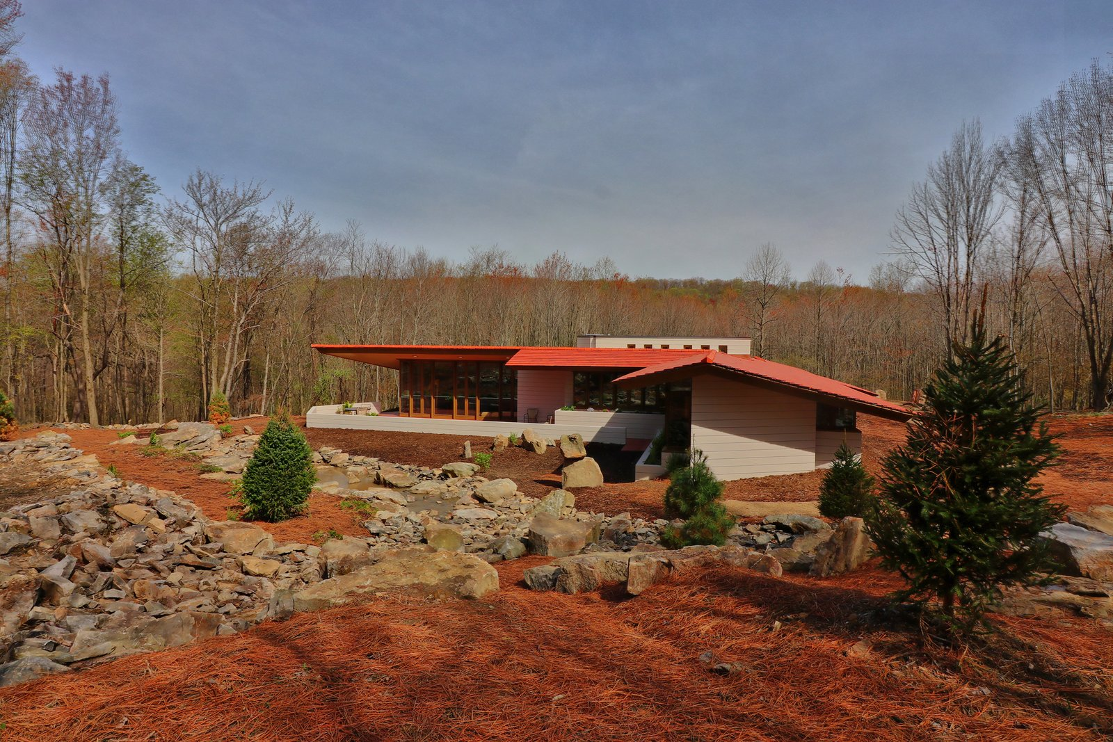 Frank Lloyd Wright S M 228 Ntyl 228 House Opens To Overnight